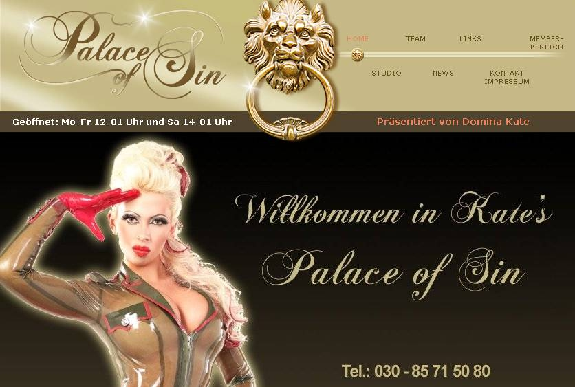 Kate's Palace of Sin - berlin